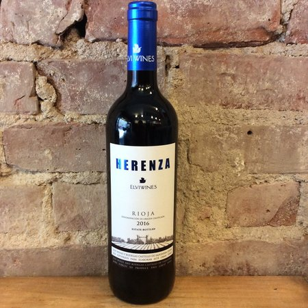 Elvi Wines Herenza Estate Bottled Rioja Tempranillo 2014