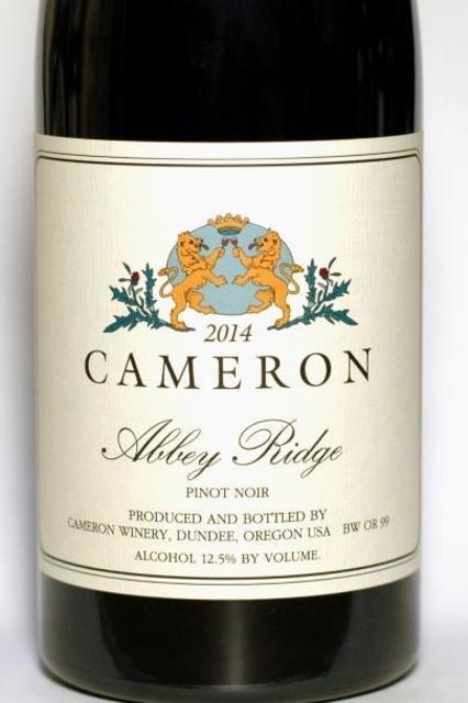 Cameron Winery Abbey Ridge Pinot Noir 2014