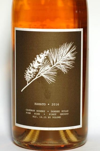 Cameron Winery Ramato Dundee Hills Pinot Gris 2015