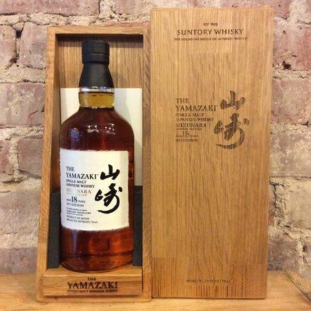 Suntory The Yamazaki 18 Year Old Limited Edition Single Malt  Whisky 2017