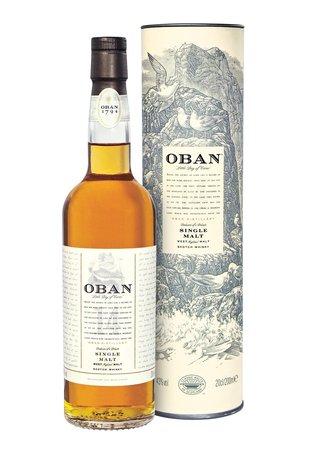 Oban 14 Year Single Malt Scotch Whisky NV