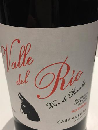 Casa Aurora Valle del Rio Vino de Parcela Villa de Albares Red Blend 2015
