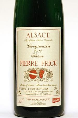 Pierre Frick Steinert Alsace Grand Cru Gewürztraminer 2012