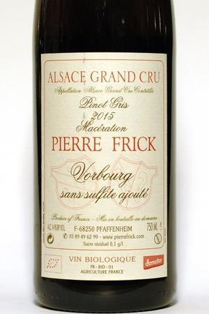 Pierre Frick Vorbourg Alsace Grand Cru Pinot Gris 2015