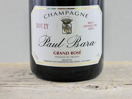 Paul Bara Grand Rosé Brut Grand Cru Champagne Blend NV