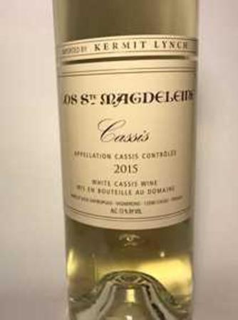 Clos Ste. Magdeleine Cassis Blanc Marsanne Blend 2015
