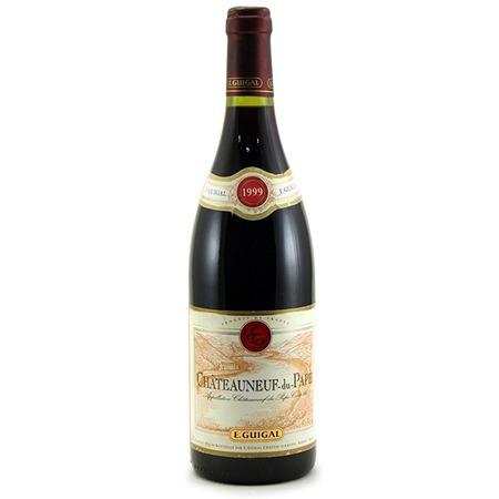 E. Guigal Châteauneuf-du-Pape Red Rhone Blend   1999