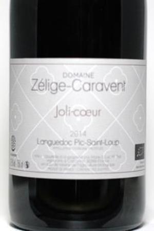 Domaine Zélige-Caravent Joli-coeur Languedoc Pic-Saint-Loup Carignan 2014