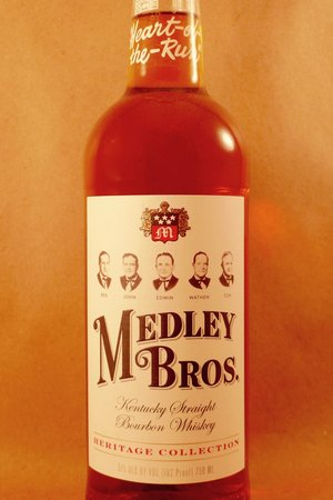 Medley Brothers (102 Proof)Kentucky Straight Bourbon Whiskey NV