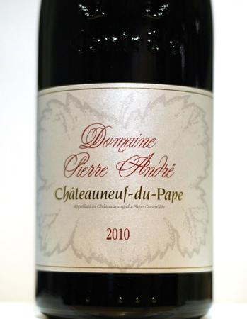 Domaine Pierre Andre Chateauneuf du Pape Red Rhone Blend 2013
