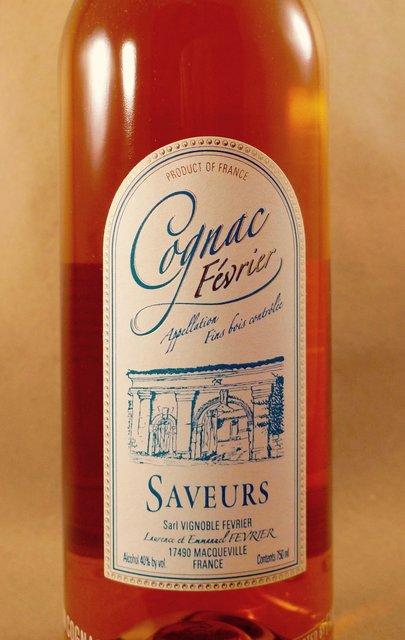 Vignoble Février Saveurs Fins Bois Cognac NV