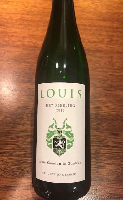 Louis Guntrum Louis Dry Riesling 2015