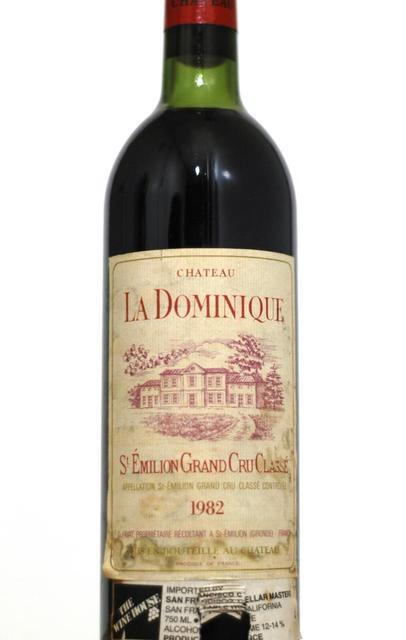 Château La Dominique Saint-Émilion Red Bordeaux Blend 1982
