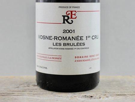 Domaine René Engel Les Brulées Vosne-Romanée 1er Cru Pinot Noir 2001