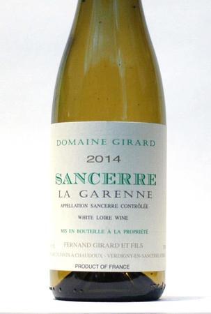 Domaine Fernand Girard La Garenne Sancerre Sauvignon Blanc 2016