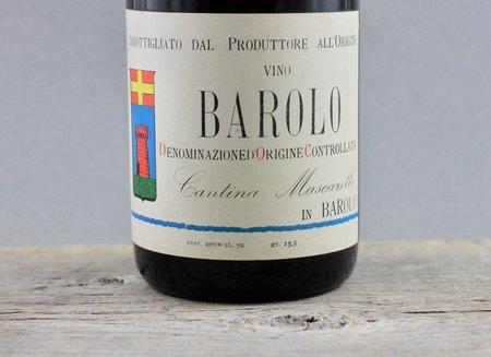 Cantina Bartolo Mascarello Barolo Nebbiolo 1964