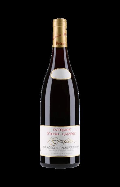 Domaine Michel Lafarge L'Exception Bourgogne Passetoutgrains Pinot Noir  Gamay  2015