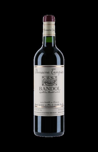 Domaine Tempier Cuvée Classique Bandol Mourvedre Blend 2015