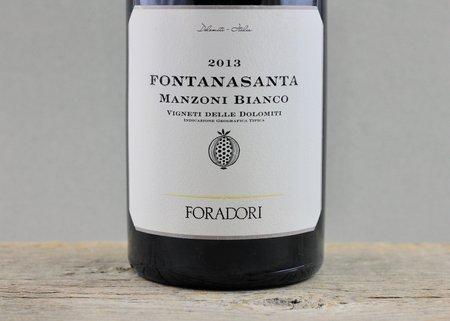 Foradori Fontanasanta Vigneti delle Dolomiti Manzoni Bianco 2013