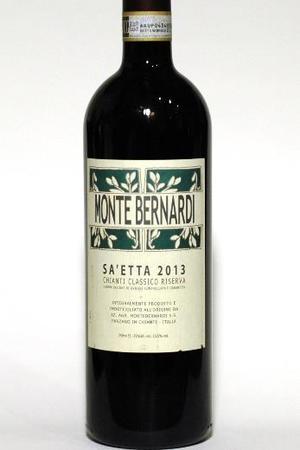 Monte Bernardi Sa'etta Chianti Classico Riserva  Sangiovese Blend 2013