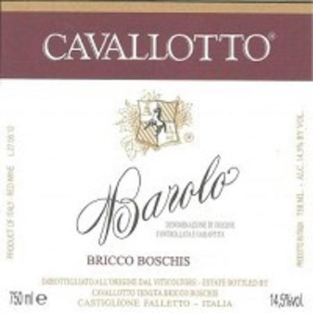 Cavallotto Bricco Boschis Barolo Nebbiolo 2013