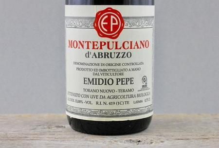 Emidio Pepe Montepulciano d'Abruzzo 1982