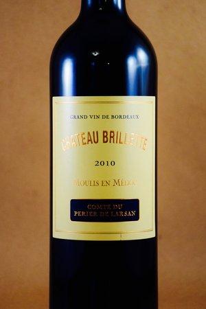 Château Brillette Comte du Perier de Larsan Moulis en Médoc Red Bordeaux Blend 2010