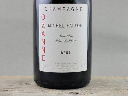 Michel Fallon Ozanne Brut Blanc de Blancs Grand Cru Champagne Chardonnay NV