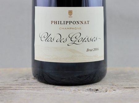 Philipponnat Clos des Goisses Brut Champagne Blend 2004
