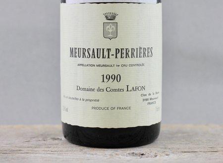 Domaine des Comtes Lafon Meursault-Perrières 1er Cru Chardonnay 1990