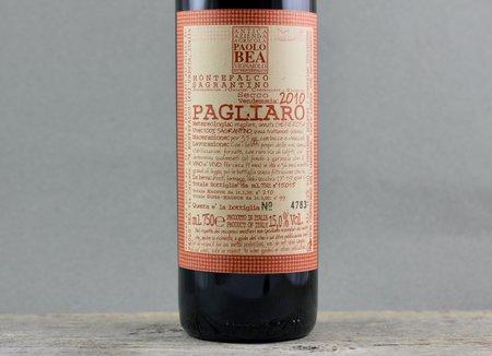Paolo Bea Pagliaro Secco Montefalco Sagrantino 2010