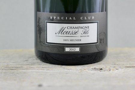 "Moussé Fils Special Club ""Les Fortes Terres"" Pinot Meunier 2012"