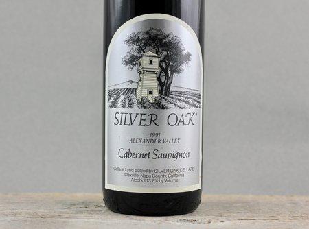 Silver Oak Alexander Valley Cabernet Sauvignon 1991