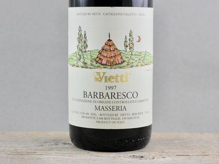 Vietti Masseria Barbaresco Nebbiolo 1997