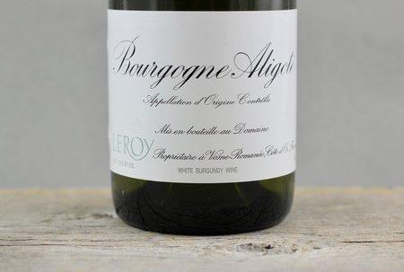 Domaine Leroy Bourgogne Aligoté  2013