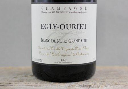 Egly-Ouriet Les Crayères Vieilles Vignes Brut Blanc de Noirs Champagne Grand Cru Pinot Meunier Pinot Noir NV