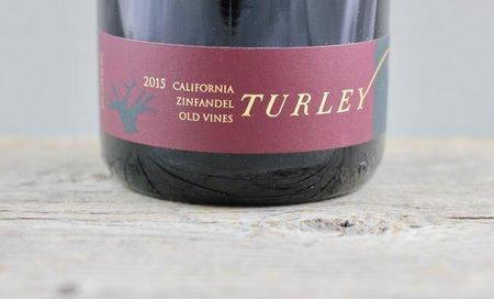 Turley Old Vines California Zinfandel 2015