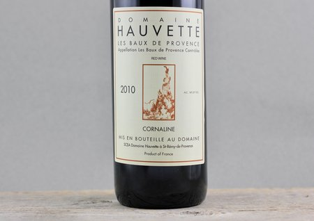 Domaine Hauvette Cornaline Les Baux-de-Provence Grenache Blend 2010