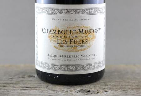 Jacques-Frédéric Mugnier Les Fuées Chambolle-Musigny 1er Cru Pinot Noir 2010