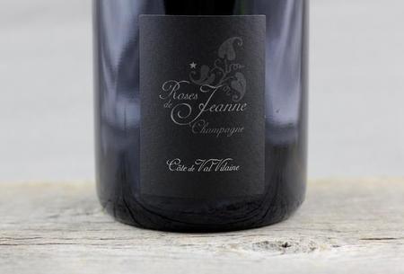 Cédric Bouchard Roses de Jeanne Côte de Val Vilaine Brut Blanc de Noirs Champagne Pinot Noir 2015