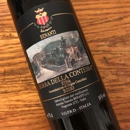 Benanti Serra della Contessa Etna Rosso Nerello Blend 2004