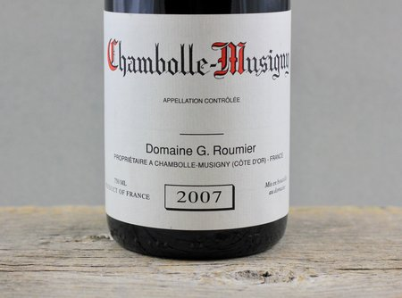 Domaine Georges Roumier Chambolle-Musigny Pinot Noir 2007