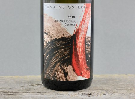Domaine Ostertag Muenchberg Alsace Grand Cru Riesling 2016