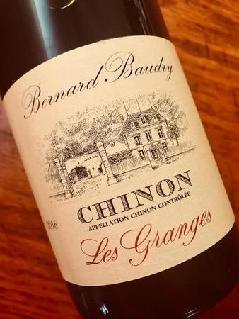 Domaine Bernard Baudry Les Granges  Chinon Cabernet Franc 2016
