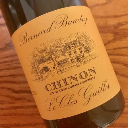 Domaine Bernard Baudry Le Clos Guillot Chinon Cabernet Franc 2015