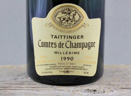 Taittinger  Comtes de Champagne Brut Blanc de Blancs Champagne Chardonnay 1990