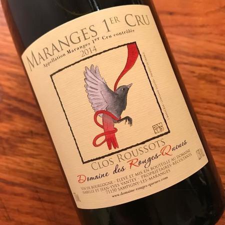 Domaine des Rouges-Queues Clos Roussots Maranges 1er Cru Pinot Noir 2014
