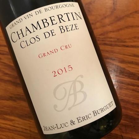 Jean-Luc & Eric Burguet Clos de Beze Chambertin Grand Cru Pinot Noir 2015