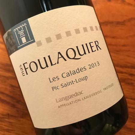 Mas Foulaquier Les Calades Coteaux du Languedoc Pic St. Loup Grenache Blend 2013