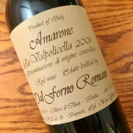 Romano Dal Forno Amarone della Valpolicella Corvina Blend 2001